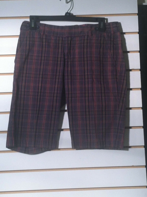 Women's Plaid Walking Shorts by Express (01205)