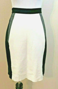 Women's Black, White & Gray Skirt Size 14 by Antonio Melani (04146)