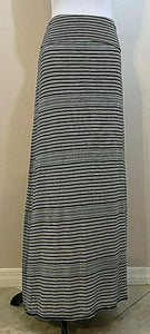 Women's Blue Multicolor Striped Versatile Skirt/Dress Size S by Max Studio (04233)