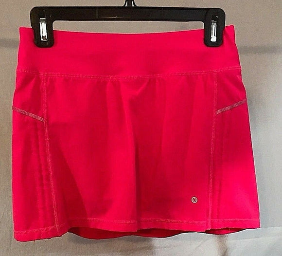 Women's Hot Pink Stretch Athletic Skort by Version (03160)
