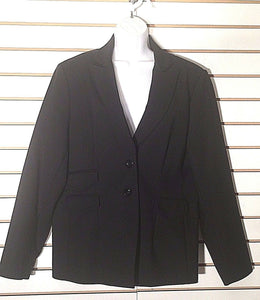 Women's Black Blazer Size 16 by Saks Fifth Avenue (02290)