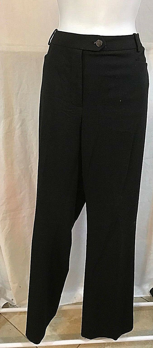 Women's Black Dress Pants Size 8 by Calvin Klein (03310)