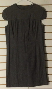 Women's Gray Wool Blend Dress Size S by Walter (01426)