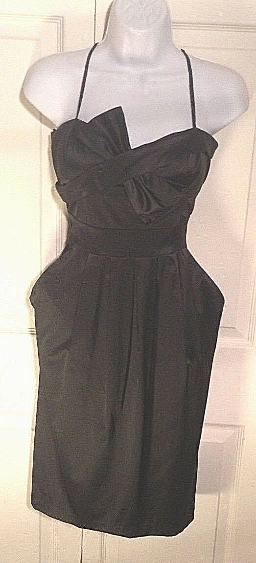 Women's Black Dress by Intrique (00208)