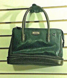 Women's Brown & Tan Leather Medium Size Purse (P115)