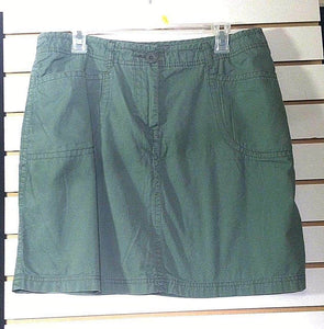 Women's Green Skirt Size 14 by Faded Glory (00744)
