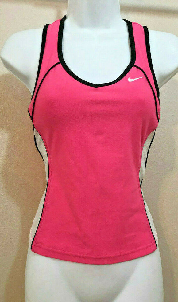 Women's Pink & White Athletic Top by Nike (04293)