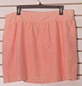 Women's Silk Blend Light Peach Skirt Size XL by JCP (02230)