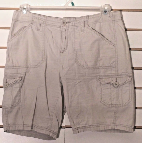 Women's Tan Shorts by Faded Glory (02134)