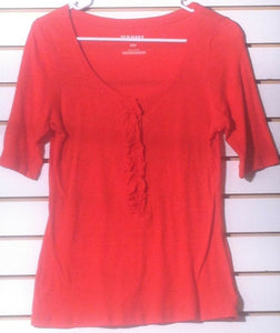 Women's Petite Orange Top Size S/P/P by Old Navy (01179)