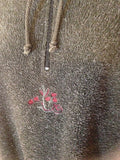 Women's Gray Fleece Pull Over Jacket Size S  by Victoria's Secret Country (02413)