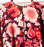 Women's Floral Multi-Color Sweater Size S by Bamboo Traders (01277)