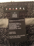 Women's Black Snake Skin Print Jeans Size 4 by Tribal (02030)