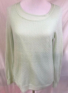 Women's New Pale Green Double Tank & Top Size M by Ann Taylor (03128)