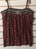 Women's Pink & Brown Multi-Color Floral Tank Top Size S by Old Navy (01998)