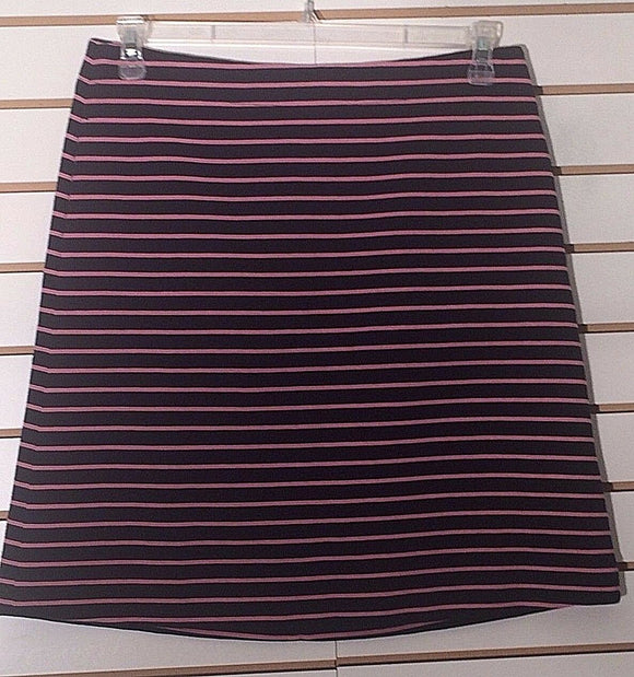 Women's New Black & Pink Skirt Size 4 by Talbots (02234)