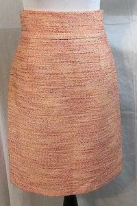 Women's Pink Tweed Skirt Size 4 by Antonio Melani (03208)