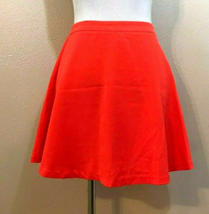 Women's Bright Orange A-Line Skirt Size S by FOREVER 21 (04182)