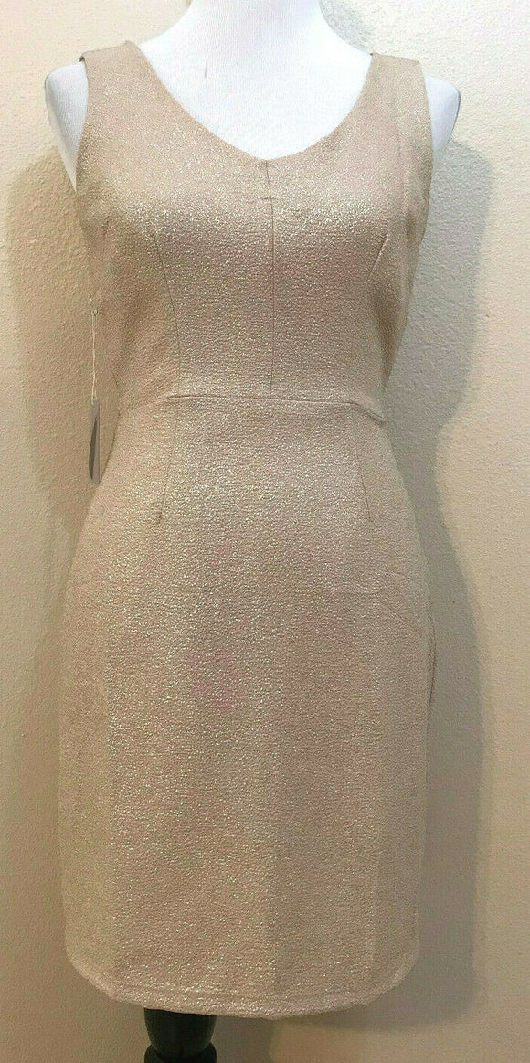 Women's New Gold Glitter Dress Size S by Forever 21 (04250)