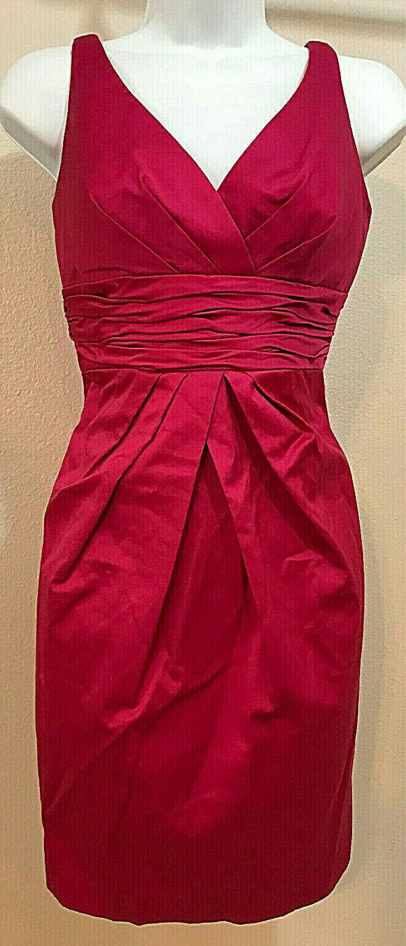 Women's New Fuchsia Cocktail Dress by David's Bridal (04313)