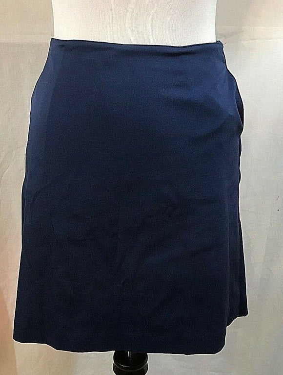 Women's Navy Blue Skort by Talbot Stretch (03394)