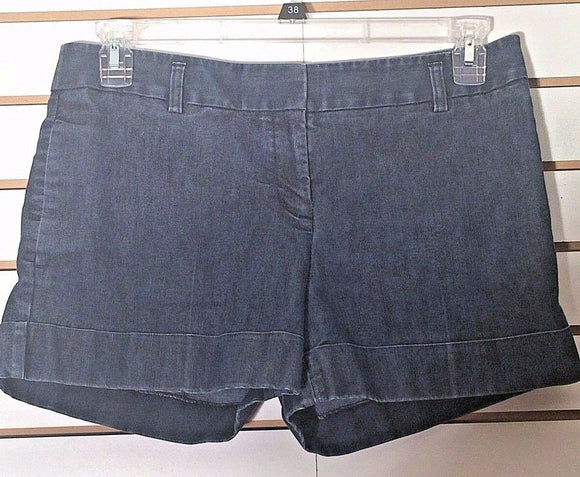 Women's Blue Denim Shorts by Express (02130)