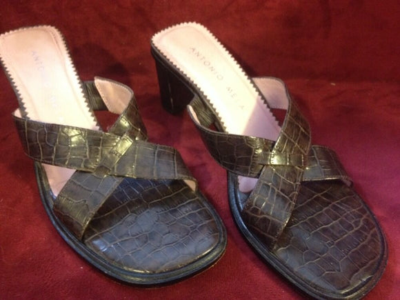 Women's Brown Sandals by Antonio Melani (SH125)