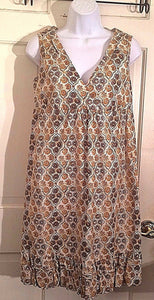 Women's Multi-Color Floral Dress Size 16 by Patrick Robinson (02298)