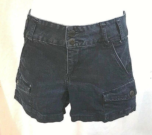 Women's Blue Denim Shorts by Calvin Klein (03389)