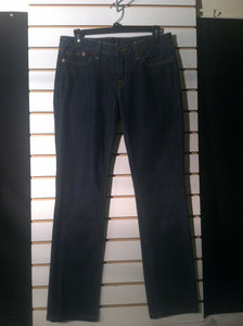 Women's Dark Blue Jeans Size 8 by Lucky Brand (01231)