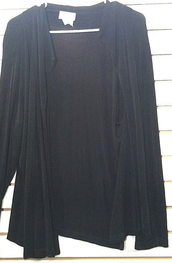 Women's Black Cardigan Size XL by Patchington (00513)