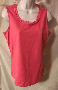 Women's Pink Stretch Top Size S by Issac Mizrahi (02876)