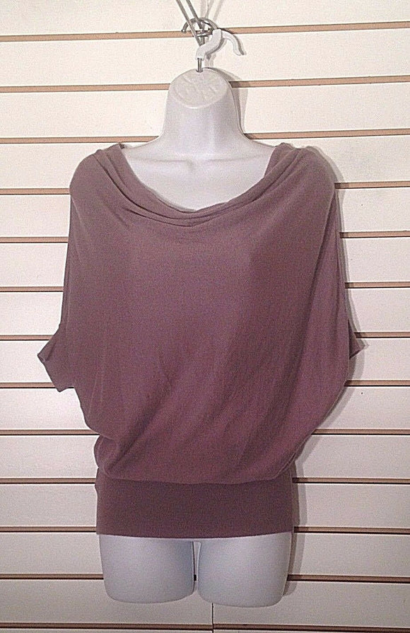 Women's Petite Pewter Knit Top Size SP by Ann Taylor LOFT (02263)