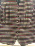 Women's Striped Vest by Liz Claiborne (00186)