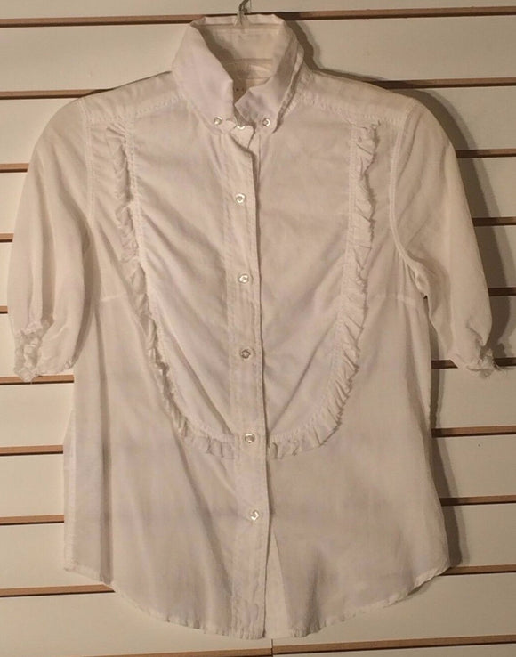 Women's White Button Down Shirt Size S by William Rast (01621)