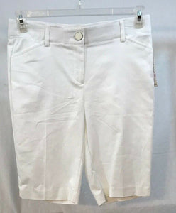 Women's New Petite White Shorts by Counterparts (03500)