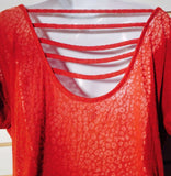 Women's Rust Colored Top Size S  by Jessica Simpson (01103)