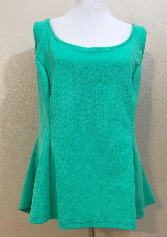 Women's Plus Size Mint Green Top Size 3X by Ambiance Apparel (03831)