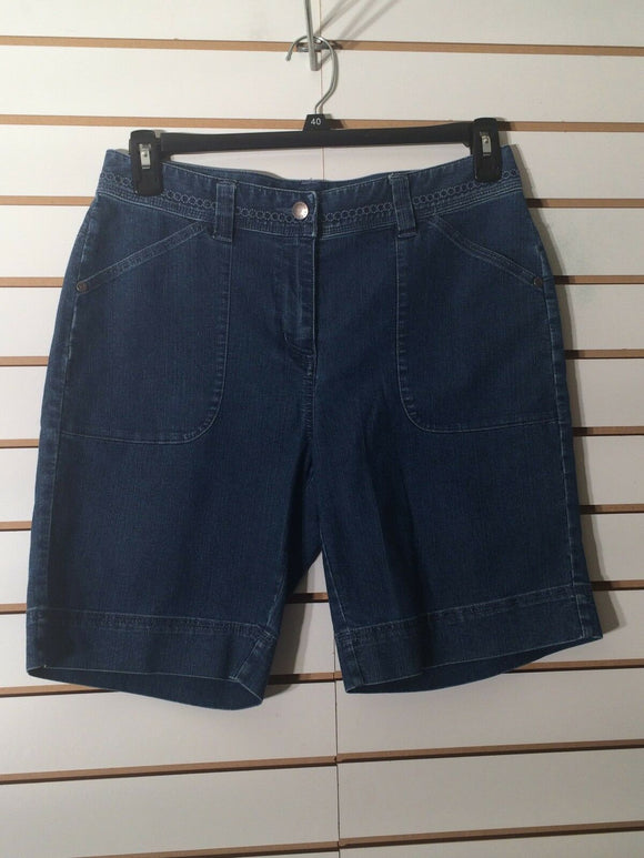 Women's Blue Jeans Shorts by Woolrich (01912)