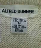 Women's Beige Embellished Sweater Size M by Alfred Dunner (01127)