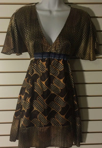 Women's Brown Multi-Color Dress Size XS by Arden B  (01450)