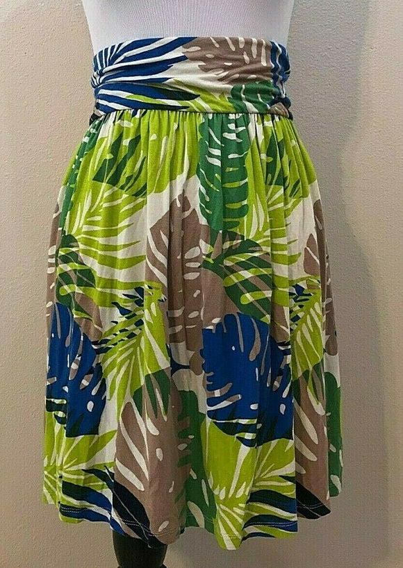 Women's Plus Size Multicolor Floral Skirt Size 18/20 by Lane Bryant (04201)