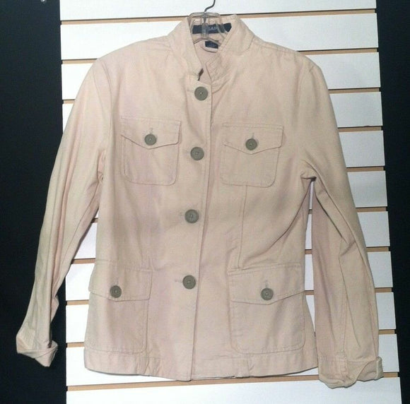 Women's Cream Colored Jacket by GAP (00835)
