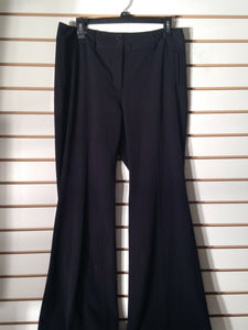 Women's Black Dress Pants Size 10R by White House Black Market (01940)