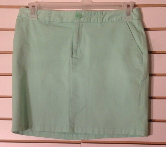 Women's Mint Green Skirt Size 6 by GAP (02022)