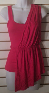 Women's Hot Pink Toga Tank Top Size S by Flamingo (01922)