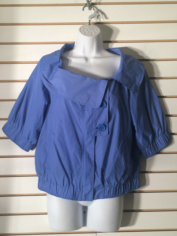 Women's Blue Lined Jacket by Axcess (a Liz Claiborne Company) (01956)
