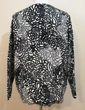 Women's Plus Size Multicolor Button Down Sweater Size 1X by Crofts & Barrow (04001)