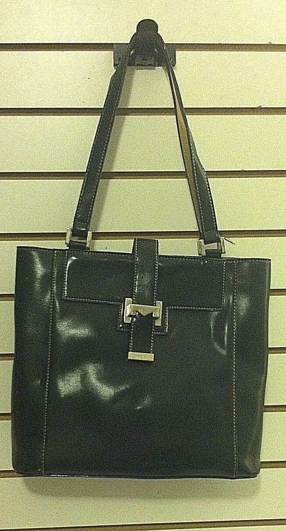 Women's Large Chocolate Shoulder Bag by Mondani (P121)