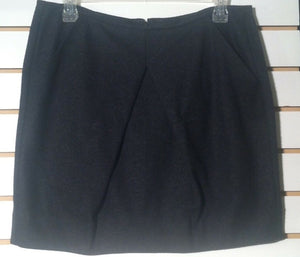 Women's Gray Wool Skirt Size 6 by CAbi (01115)
